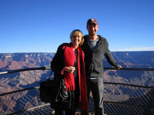Dan and Joyce at the Grand Canyon