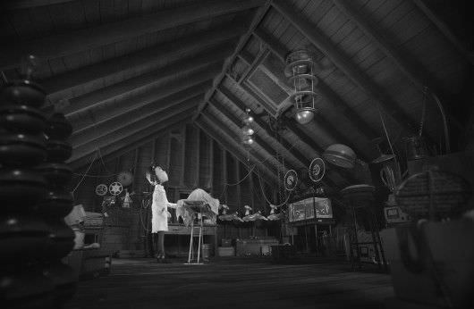 The attic, courtesy of Walt Disney Pictures/Prime Focus World