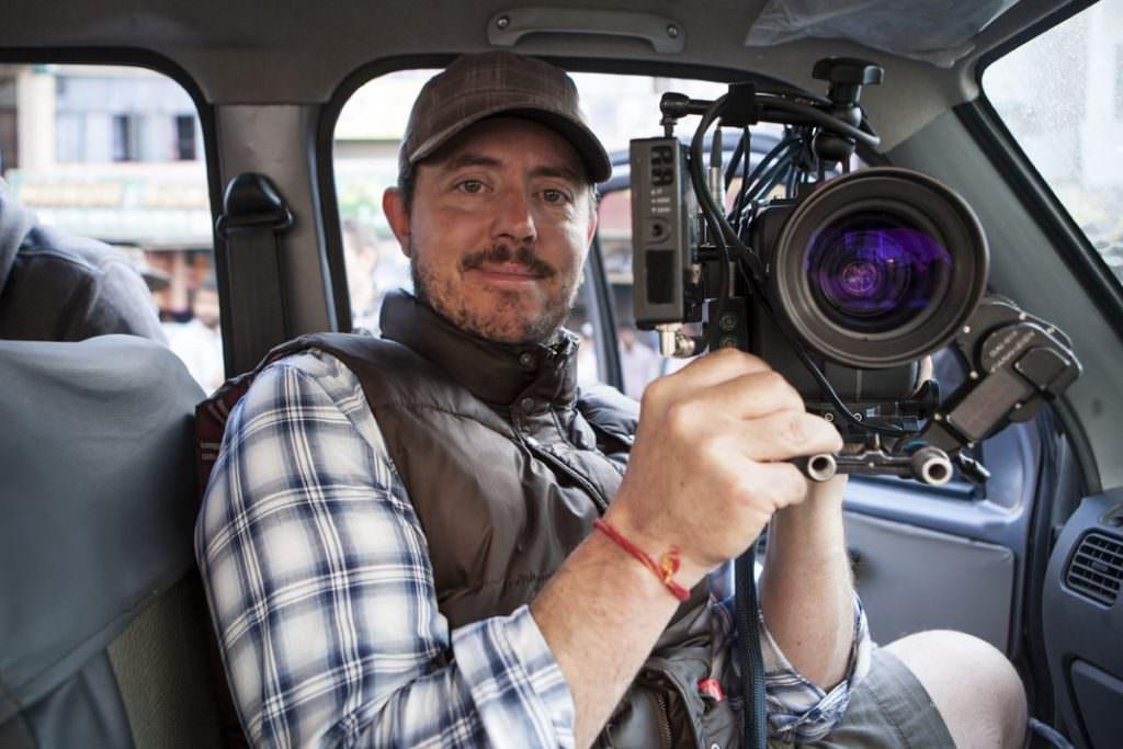 Greig Fraser on the set of 'Zero Dark Thirty.' Courtesy Greig Fraser