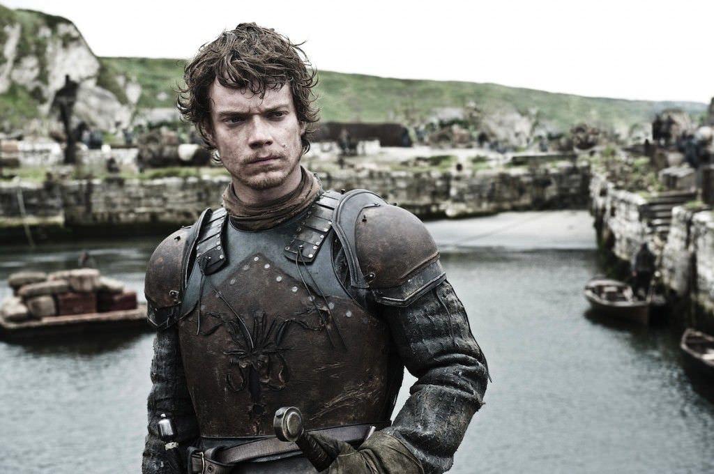 Alfie Allen as Theon Greyjoy. Photo Helen Sloan, courtesy HBO