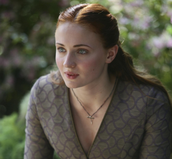Sophie Turner. photo: Helen Sloan/courtesy of HBO