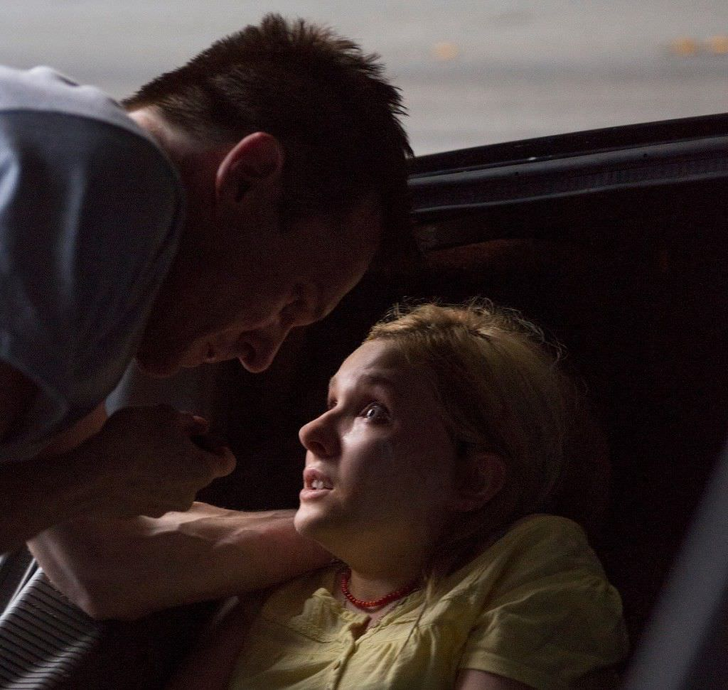 Michael Foster (Michael Eklund) and Casey Welson(Abigail Breslin) in The Call. Photo courtesy Sony Pictures.