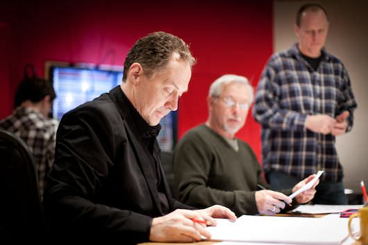 Mark Isham '42' scoring session, at Abbey Road in London, January 20, 2013
