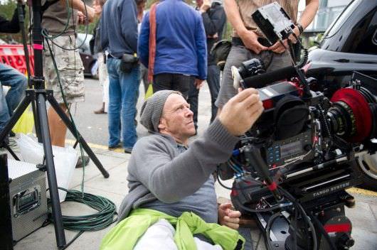 Anthony Dod Mantel on the set of 'Trance.' Courtesy Fox Searchlight