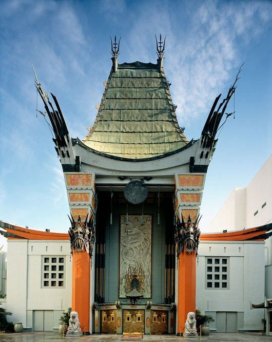 Grauman's Chinese Theater. Courtesy Library of Congress