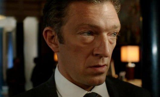 The man with the frame-filling face. Vincent Cassel. Courtesy Fox Searchlight