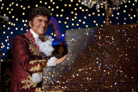 Michael Douglas's transformative turn as the legendary Liberace. Courtesy HBO and The Cannes Film Festival
