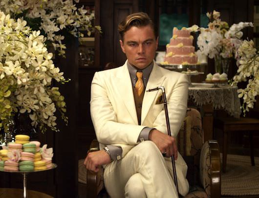Leonardo DiCaprio is already getting good press on his take on Jay Gatsby. Courtesy Warner Bros. Pcitures