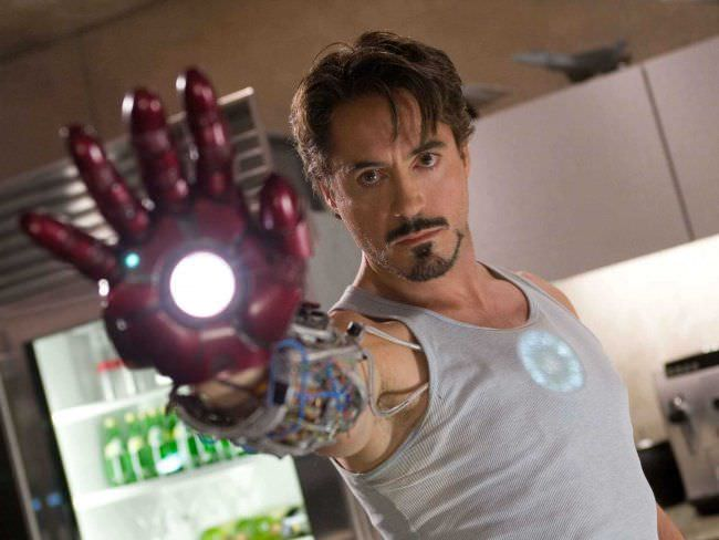Robert Downey Jr. is Iron Man. Courtesy Marvel Studios/Walt Disney Studios.