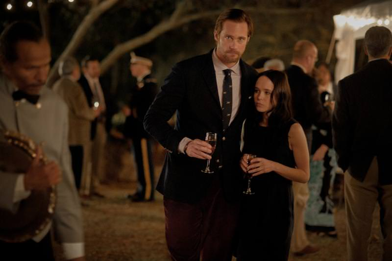 Alexander Skarsgard and Ellen Page as Benji and Izzy in 'The East'. Courtesy Fox Searchlight