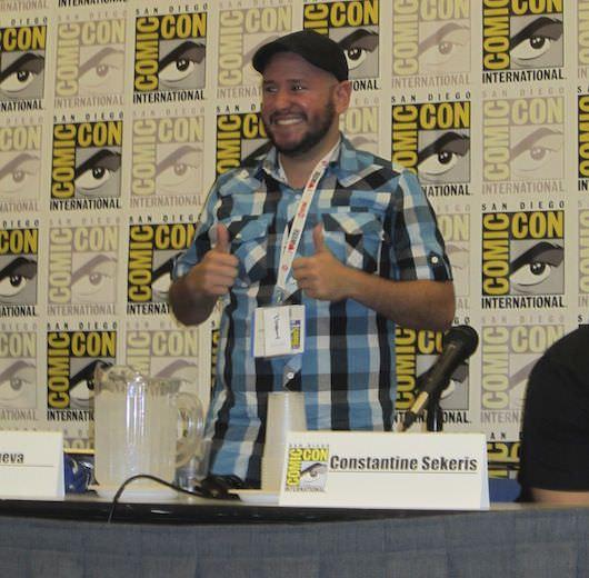 Alan Villanueva at Comic-Con. Photo by Nell Minow