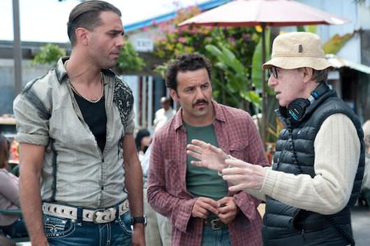 Left to right: Bobby Cannavale, Max Casella and Director Woody Allen Photo by Merrick Morton © 2013 Gravier Productions, Courtesy of Sony Pictures Classics