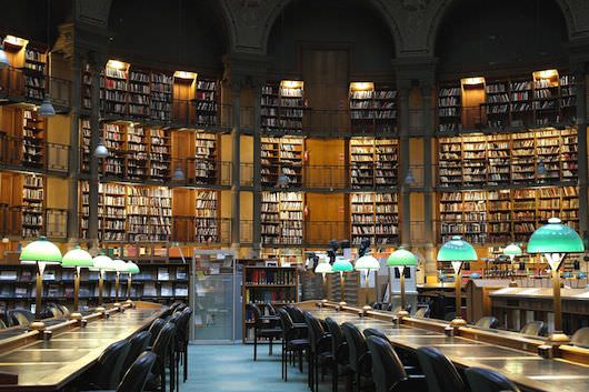 The contents of the Biblioteque National in France would be part of Google's digital library. As would the contents of every other library on Earth. Courtesy NYFF.