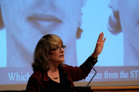 Elizabeth Loftus, PhD., at Dickinson University