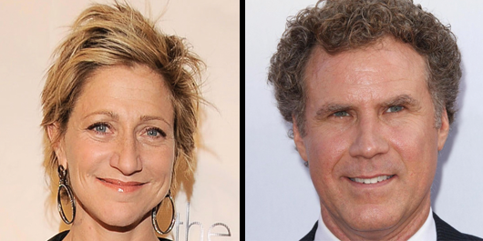 Edie Falco and Will Ferrell