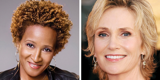 Wanda Sykes and Jane Lynch