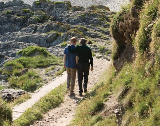 The production spent three weeks in Porthpean, Cornwall, athe western edge of the United Kingdom. Courtesy Universal Pictures