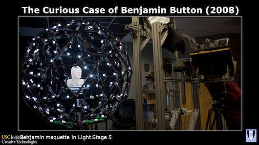 Benjamin Button maquette