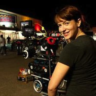Diablo Cody on the set of 'Paradise'. Courtesy CBS FIlms