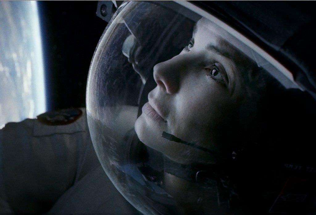 Sandra Bullock as Ryan Stone in 'Gravity.' Courtesy Warner Bros. Pictures