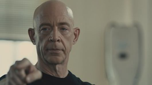 J.K. Simmons as the teacher you never, ever want to have. Courtesy The New York Film Festival.