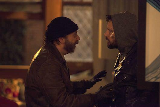 Paul Giamatti as Denis and Paul Rudd as Rene. Courtesy GreeneStreet Films.