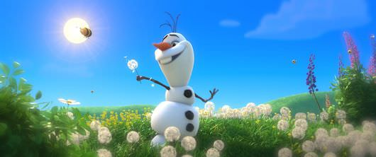 Olaf from 'Frozen' ©2013 Disney. All Rights Reserved.