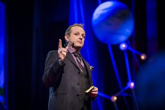 pollo Robbins at TEDGlobal 2013 in Edinburgh, Scotland. June 12-15, 2013. Photo: James Duncan Davidson