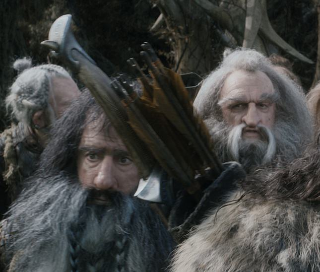 William Kircher as Bifur, John Callen as Oin