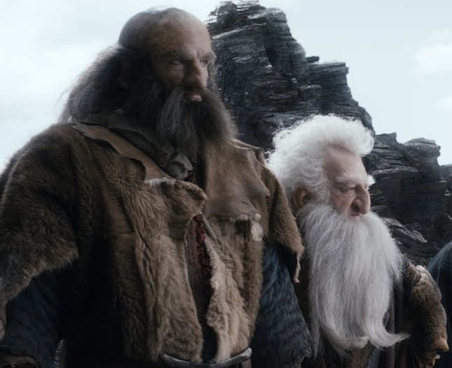 L-R: Graham McTavish as Dwalin & Ken Stott as Balin
