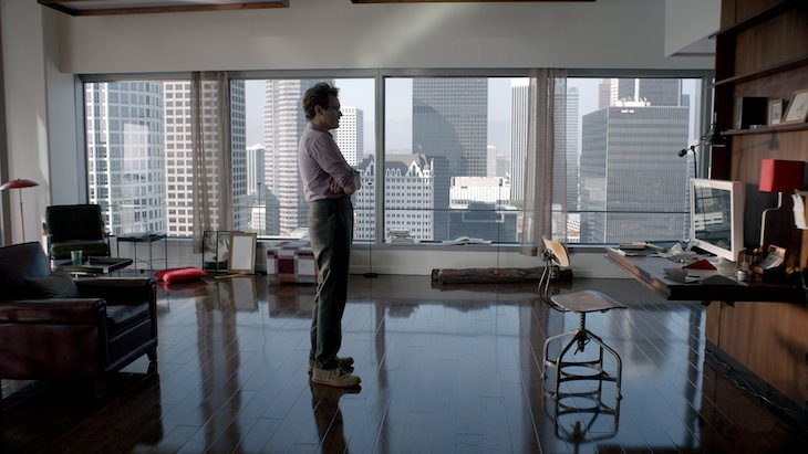 Theodore in his apartment. Courtesy Warner Bros. Pictures.