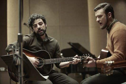 Oscar Isaacs and Justin Timberlake performing in 'Inside Llewyn Davis.' Courtesy CBS FIlms