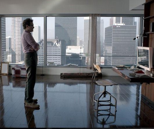 Joaquin Phoenix as Theodore in Spike Jonze's 'Her.' Courtesy Warner Bros. Pictures.