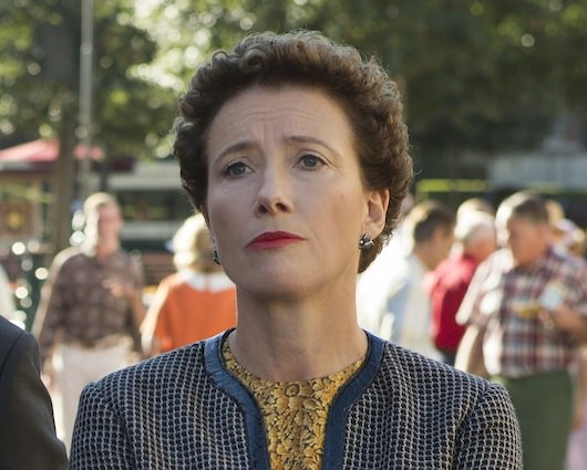 """Mary Poppins"" author P.L. Travers (Emma Thompson) in Disney's ""Saving Mr. Banks."" Courtesy Walt Disney Studios."