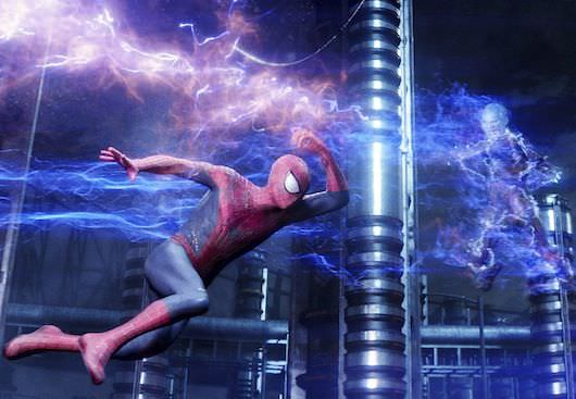 "Andrew Garfield stars as Spider-Man in Columbia Pictures' ""The Amazing Spider-Man,"" also starring Emma Stone."