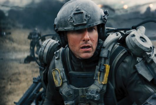 Tom Cruise in 'Edge of Tomorrow.' Courtesy Warner Bros. Pictures