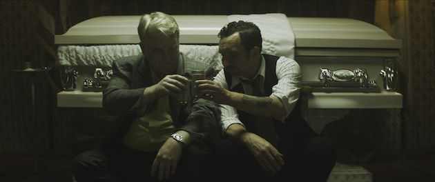 Philip Seymour Hoffman & Eddie Marsan. Courtesy Sundance Film Festival