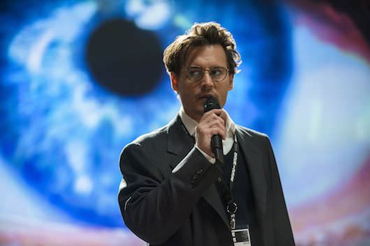 Johnny Depp as Will Caster in 'Transcendence.' Courtesy Warner Bros. Pictures