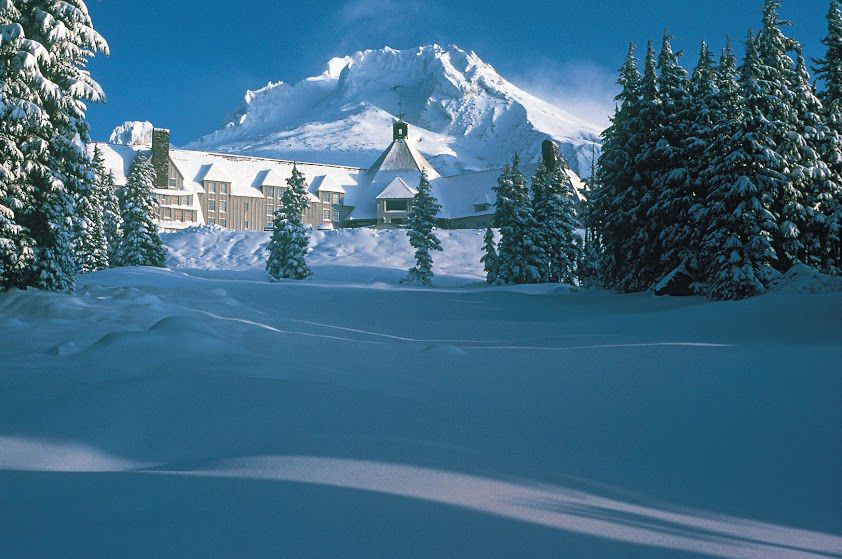 The Timberline Lodge. Photo by Brian Reed. Courtesy Timberline Lodge.