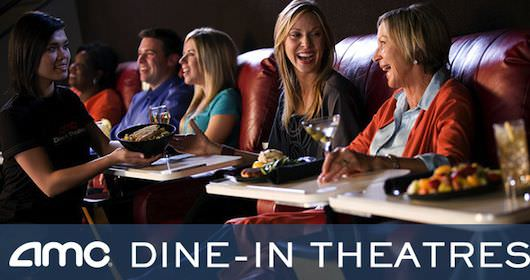 AMC Dine-In has it down to a science. Courtesy AMC Theaters.
