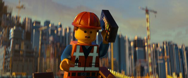 Lego Construction worker. Courtesy Warner Bros. Pictures.