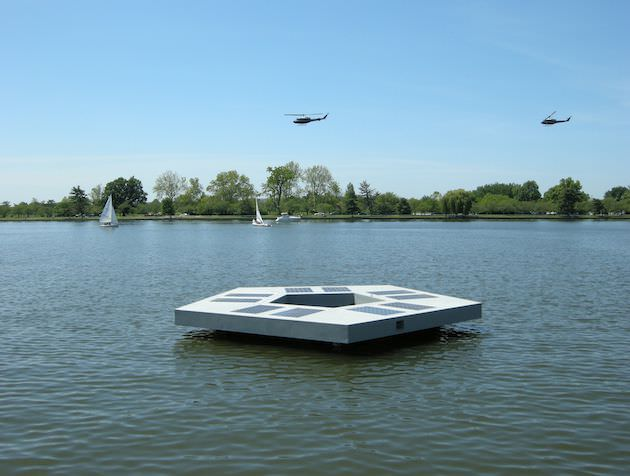 The 'Floating Pentagon,' otherwise known as the Polygonal Address System