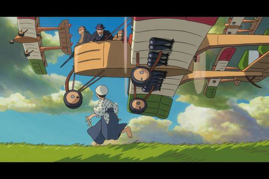 A scene from 'The Wind Rises,' Hayao Miyazaki's last film. Courtesy Walt Disney Pictures.