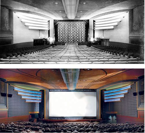 The Silver Theater, from the 1930s to today's AFI Silver Theater, one of the country's grandest. Courtesy the AFI SIlver Theater.