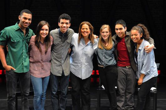 Joseph Wood, Analisa Gutierrez, Justice   Smith, Anna Deavere Smith, Melody Daley, Julian Aldana   Tejada, Jaz Sinclair