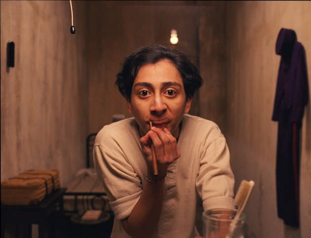 Tony Revolori as Zero in the servants quarters. Courtesy Fox Searchlight Pictures.