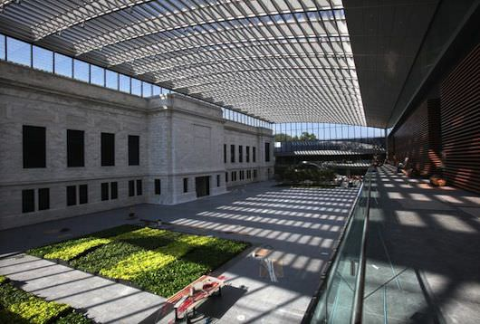Cleveland Museum of Art's new 39,000 square-foot atrium.