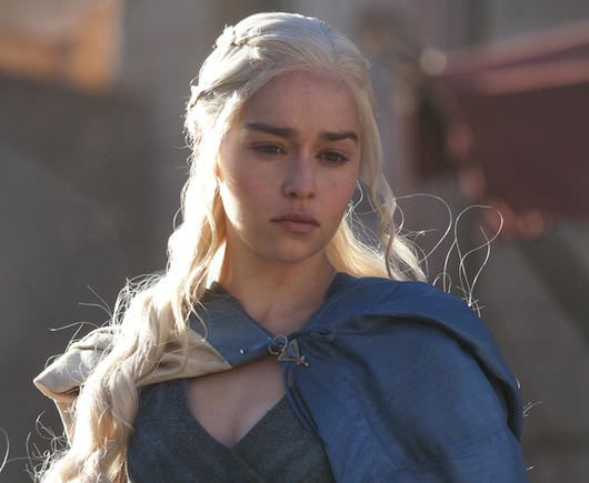 Daenerys, played by Emilia Clarke. Courtesy HBO.