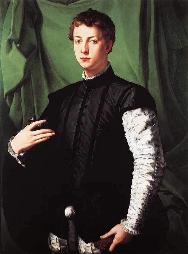 "Angelo Bronzino's ""Portrait of Ludovico Capponi."" Courtesy WikiCommons"