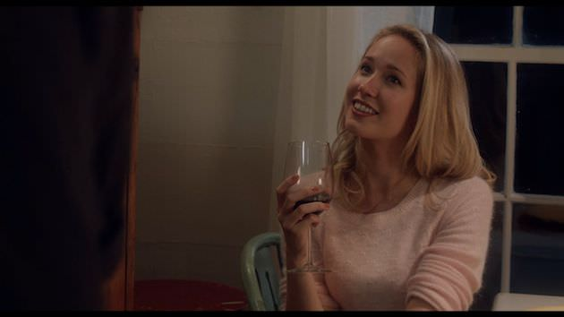 Anna Camp is Debbie Spangler, a woman Otto meets outside of church. Photo by Corey Walter copy
